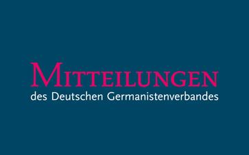 """""""Mitteilungen des DGV"""" Heft 1-2020"""